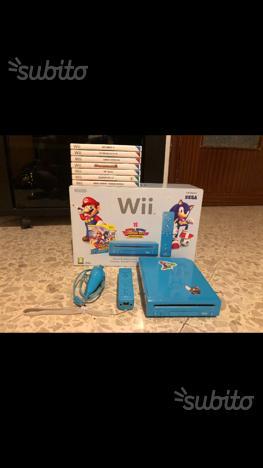Nintendo wii edizione limitata Mario e sonic
