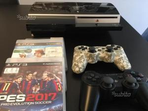PS3 + 2 joypad + 3 giochi