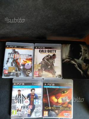 PS3 giochi vari