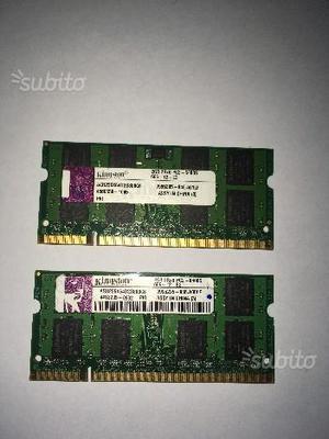Ram kingstone 4gb DDRmhz CL6 1.8v