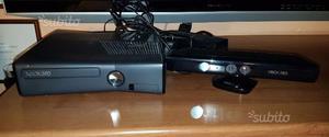 Xbox 360 con giochi e 2 joystick e kinect