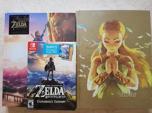 Zelda BotW Explorer Edition con Guide CollectorEd