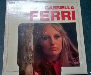 GABRIELLA FERRI Cofanetto 3 vinili 33 giri 40 €