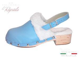 nuovi stili 4c533 2e753 Zoccoli in legno zoccoletti donna bimba bambina | Posot Class