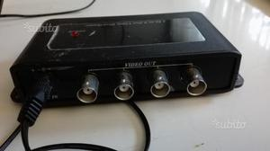 CD104 - Distributore Video 1 Ingresso 4 Uscite