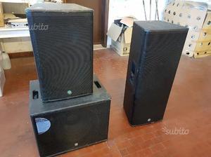 Impianto audio completo attivo  Watt RMS Topp
