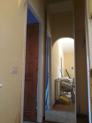 Scarpiera anta specchio salva spazio ciliegio posot class - Scarpiera con specchio ...