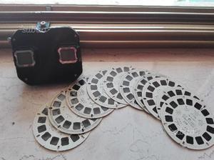 1 Visore view Master 3D 10 dischetti