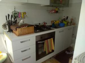 Cucina 2 metri lineari bianca | Posot Class