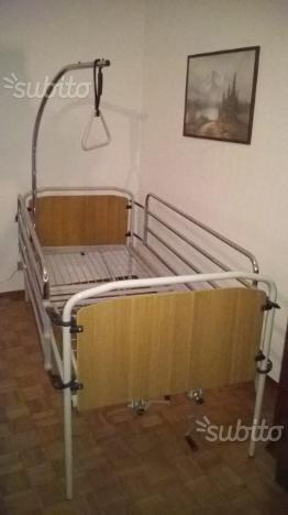 Letto per disabili posot class - Sbarre letto anziani ...