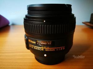 Obiettivo per full frame nikon AF-S 50 mm 1:1.8 G