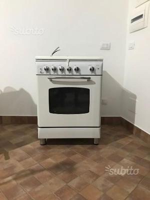 Cucina a Gas Rex 4 fuochi forno