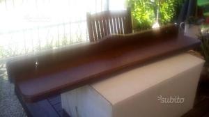 Mensola in legno di arte povera