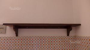 Mensola in legno massello