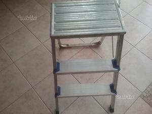 Sgabello scaletta alluminio joker gradini posot class