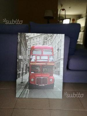 Stampa Bus rosso londinese