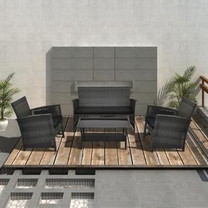 Set mobili giardino xl rattan divani angolo posot class - Set divano rattan ...