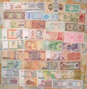 Collezione Banconote mondiali straniere scegli