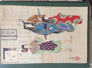 Replica anni 50 di stampe giapponesi