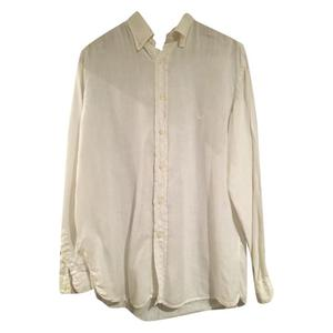 camicia bianca lino
