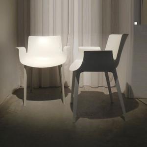 kartell, set composto da 4 sedie PIUMA, casa ufficio studio