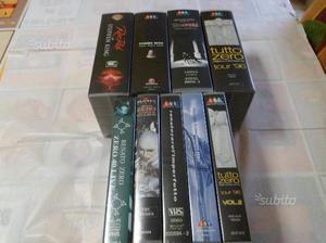 9 Videocassette vhs musicali renato zero