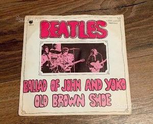 Beatles vinile 45 giri ballad of john and yoko
