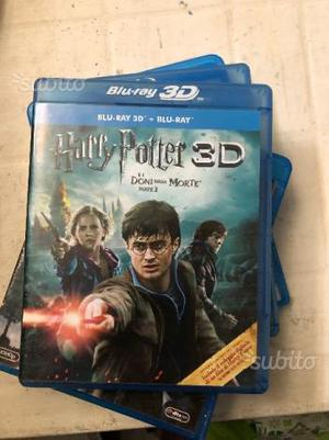 Blu-Ray Harry Potter E I Doni Della Morte Parte 2
