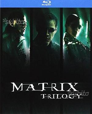 Box Trilogia Matrix BluRay (Nuovo impacchettato)