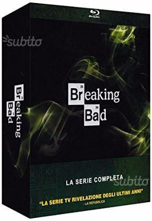 Breaking bad cofanetto serie completa ita