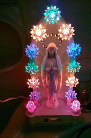 Madonna di Lourdes Carillon Illuminata
