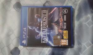 STAR WARS BATTLEFRONT II come nuovo play 4 ps 4