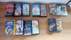 VHS originali Disney e non solo