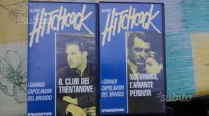 Video cassette film di Alfred Hitchcock