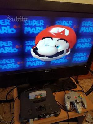 Console Nintendo 64 completa