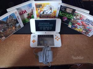 New Nintendo 2ds Xl con 5 giochi e giochi DS
