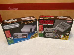 Nintendo Classic Mini e Super Nes Mini Nuove