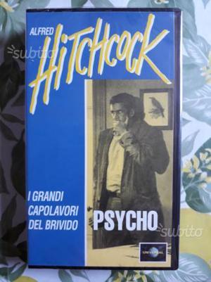 4 videocassette vhs di Alfred Hitchcock