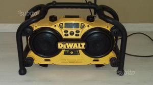Radio DeWalt caricabatterie