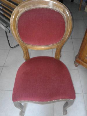 Tavoli e Sedie in legno e velluto