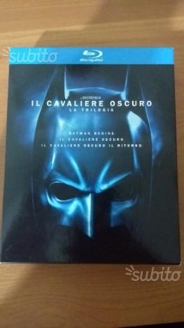Trilogia bluray batman il cavaliere oscuro