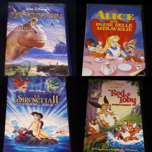 VHS Disney Videocassette collezione