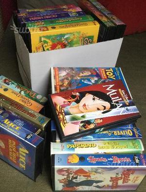 Videocassette cartoni Walt Disney
