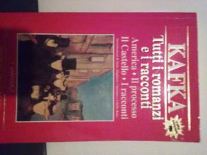 """Kafka, tutti i romanzi e i racconti"", i Mammut"