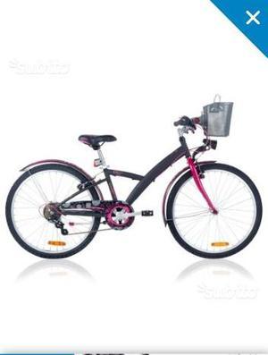 """Bici bambina 24"""" btwin decathlon"""