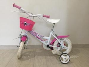 Bicicletta bambina 2/5 anni Dino bike