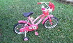 Bicicletta bambina Hello Kitty rosa