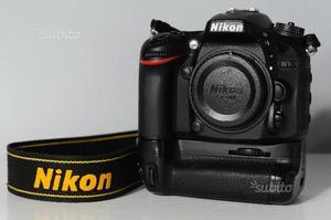 Nikon D - solo corpo e battery grip