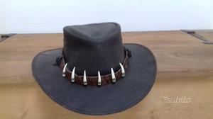 Cappello Australiano in pelle di canguro