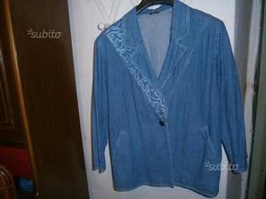 Giacca donna in tessuto jeans